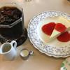 喫茶まりも - 料理写真:ケーキセット@790円