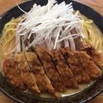 味の新宮 - 冷し坦々パーコー麺@1,000円