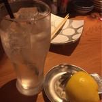 博多 魚人 - 生レモンサワー