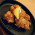 不二家レストラン - 鶏の唐揚げ(420円+税)2017年5月