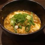 ファイヤーホール 陳 - 麻辣スープと河豚の白子の雑炊