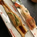 Sushizammai - 特大ボタン海老と上穴子
