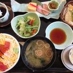 江戸前 びっくり寿司 - レディース膳(大盛り)