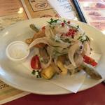 ピッツェリア チーロ - 穴子と夏野菜のフリット