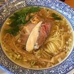貝だしらぁ麺 ひばな - 料理写真:貝だしらぁ麺(塩)(790円)