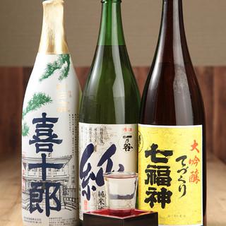 ビールから日本酒、サワーまで!お酒も種類豊富にご用意