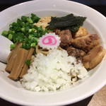ドラゴンラーメン - ドラニボ 〜 煮干し混ぜそば 〜  850円