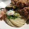 饂飩 梵蔵 - 料理写真:鳥唐ぶっかけうどん(冷)