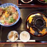 おーしゃん食堂 - お〜しゃん食堂(ハマチづけ丼(志))