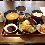 おーしゃん食堂 - お〜しゃん食堂(お造り定食(海宝))