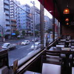 シカール - ...永代通りを俯瞰、夜景も良し。。
