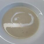 レストラン タケウチ - ナスのクリームスープ