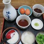 Teuchisarasobajimbee - 薬味1人前200円×2