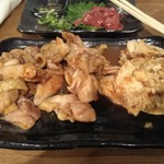 鶏晴 - 肉三種