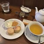 紅茶日和 - クリームティーセット