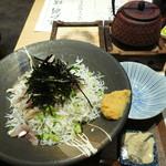 魚処 はなたれ - 湘南丼 1150円+税(週末値段)