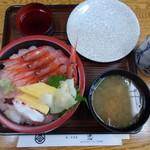 67700706 - 甘えび丼(1,800円)