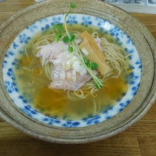 きくや - 料理写真:蟹と本枯鰹節 冷たい中華そば