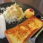 はくば珈琲店 - 料理写真:フレンチトースト