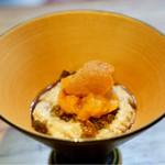 明道町中国菜 一星 - ピータン豆腐