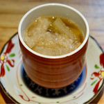 明道町中国菜 一星 - 冬瓜とキヌガサダケの蒸しスープ