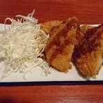 串焼き 鳥吉 - サクサクコロッケ2個(300円+税)