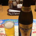 炭焼きレストランさわやか - 瓶ビール 540円