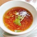 67704944 - スープ(定食)