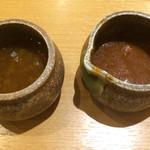 炭焼きレストランさわやか - オニオンソースとデミグラスソース