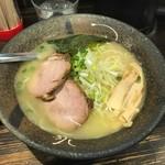 濃厚つけ麺 まる家 - 塩らーめん(並)