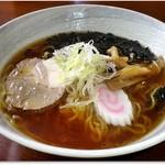 ごはんと麺の店 見晴 - 料理写真:しょうゆラーメン 650円