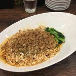 67705994 - 「汁なし担担麺と小麻婆丼のセット」1150円