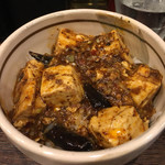 67705997 - 「汁なし担担麺と小麻婆丼のセット」1150円