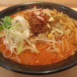 みそ道楽 - 赤味噌担々麺。