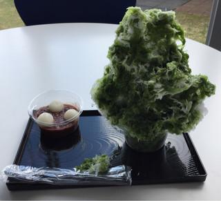 奈良の氷屋ヒノデさん