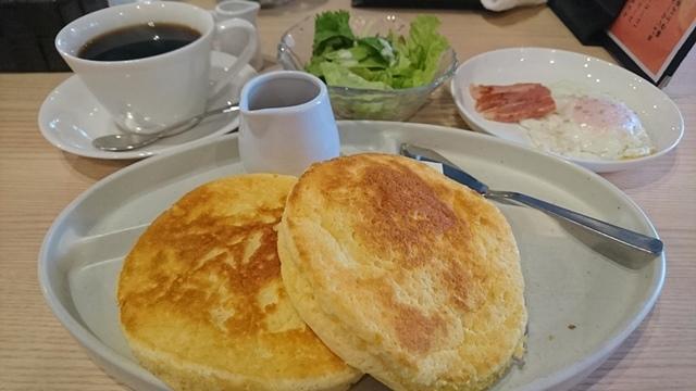 cafe a。u。n , モーニング
