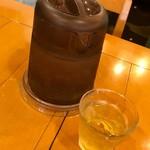 中国ラーメン揚州商人 - アイスジャスミンティーはいつでも美味しいね!