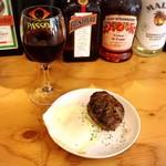 グリルSumitoko - 【バルウォーク福岡2017 春バル】黒毛和牛100% ハンバーグ & 赤ワイン