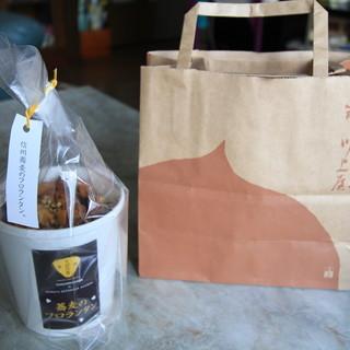 恵那川上屋 - 料理写真:信州蕎麦のフロランタン