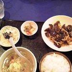 チャイニーズキッチン味彩 - 木耳らーめんセット