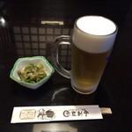 67710211 - 生ビールとお通し