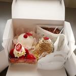 ミズノヤ - 料理写真:購入したケーキ