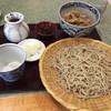 沢畔 - 料理写真:ミニ鴨焼き丼と十割蕎麦のセット(蕎麦大盛り)
