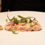 ル・マノアール・ダスティン - 料理写真:魚介のタルタル
