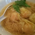 香港麺専家 天記 - 海老ワンタン麺( ゚Д゚)ウマー