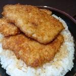 政家 - 特製2段盛りかつ丼 1,190円(税別)