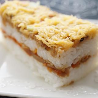 梅ヶ枝荘 - 料理写真:大村寿司(780円・よこから)
