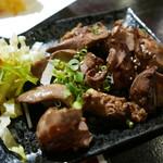 炎天下 - [2次会]鶏レバー380円