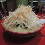 らーめん弁慶 - ネギ味噌(麺硬め、脂多め)