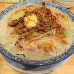 麺屋 ばんび - 台湾ミンチのせたっぷり野菜ラーメン